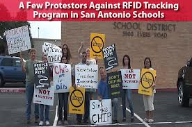 USA protest against tacking RFID