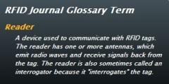 RFID reader definition